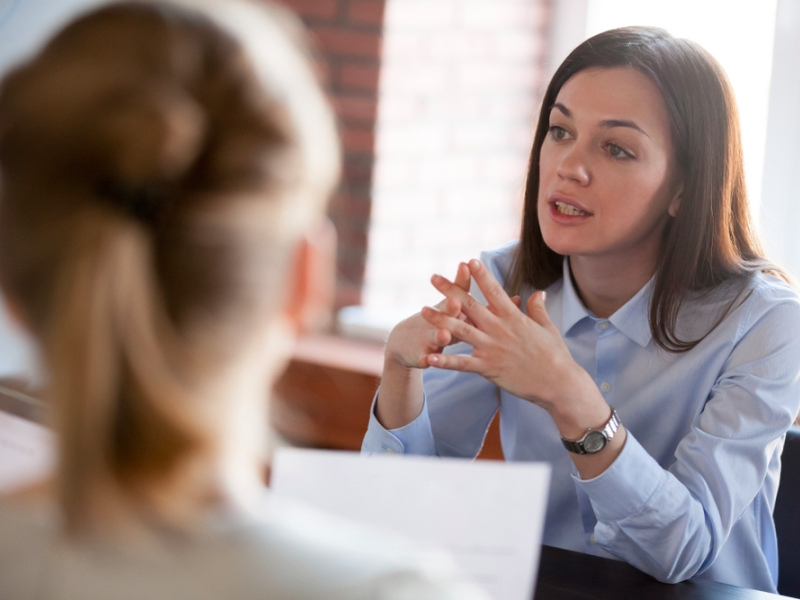 HR leader, confident female business leader 1