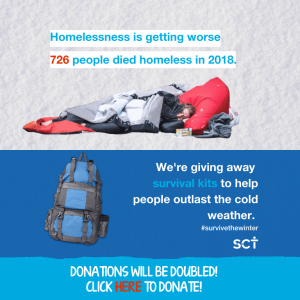 SCT Homeless WInter Appeal 2019