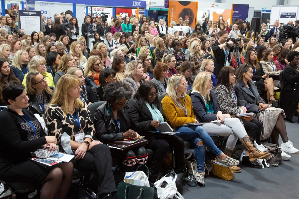 Attendees at the Women in Business Expo