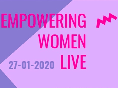 Empowering women live featured