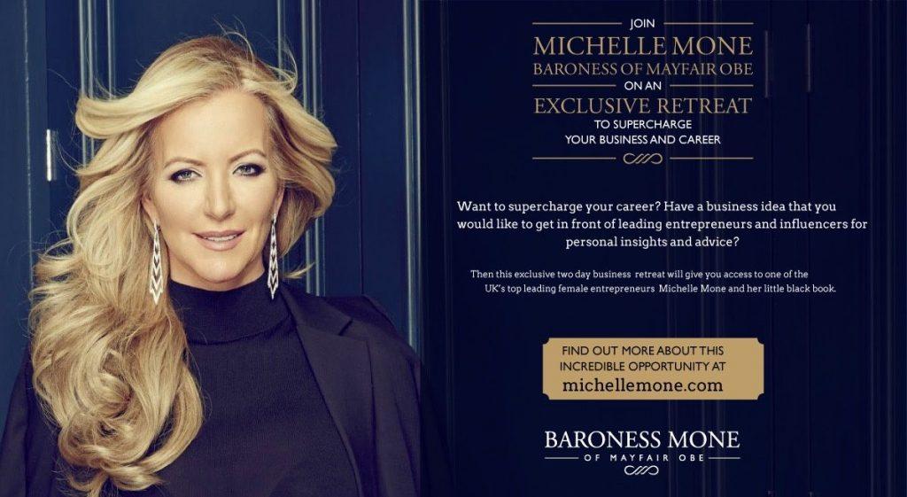 Michelle Mone exclusive retreat