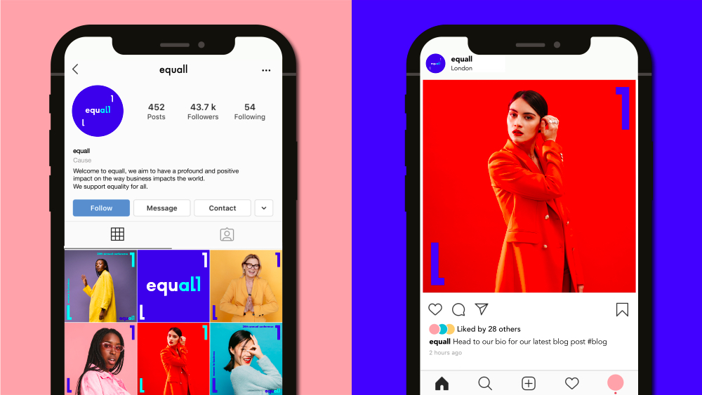 Equall Launch Instagram