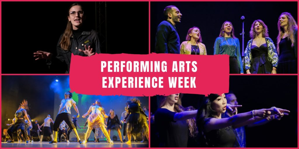 Performing Arts Experience Week - Stage & the City
