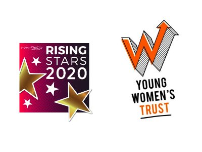 Rising Star and Young Women's Trust logo