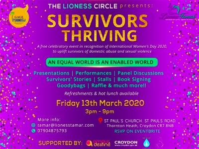Survivor's Thriving Lioness Tamar International Women's Day event featured