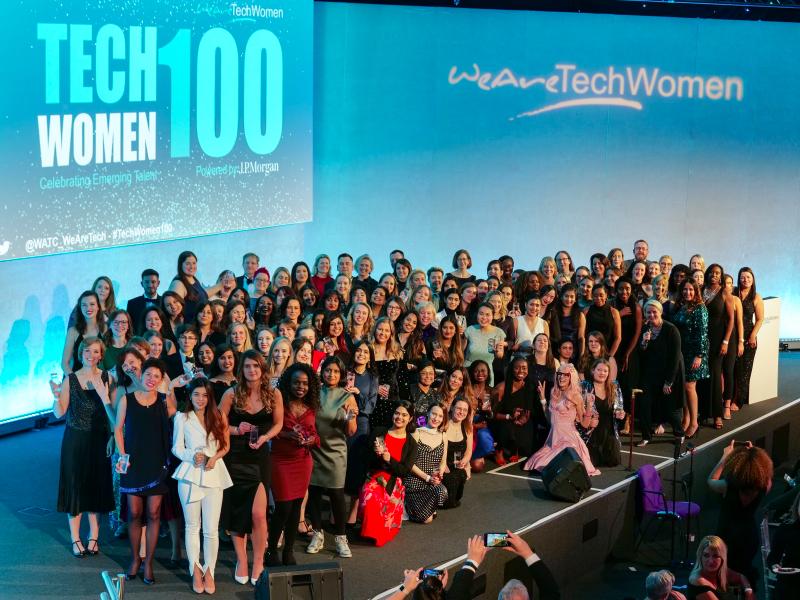 TechWomen100 2019 winners