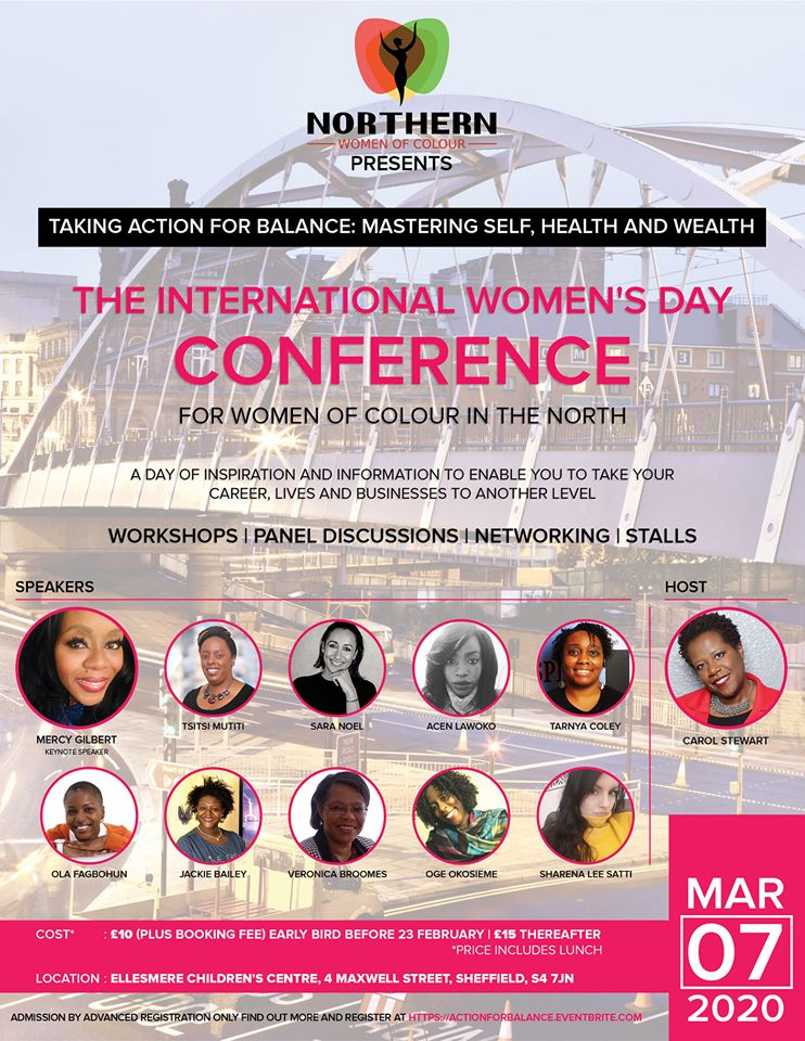 IWD Conference Northern Women of Colour