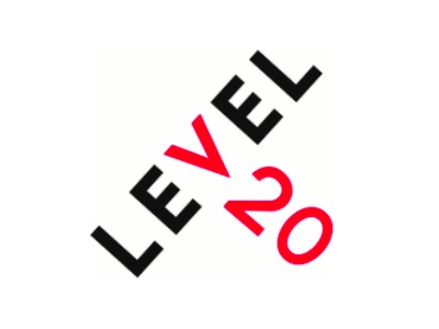 Level 20 logo featured