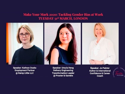 Make Your Mark- Tackling gender bias at work featured