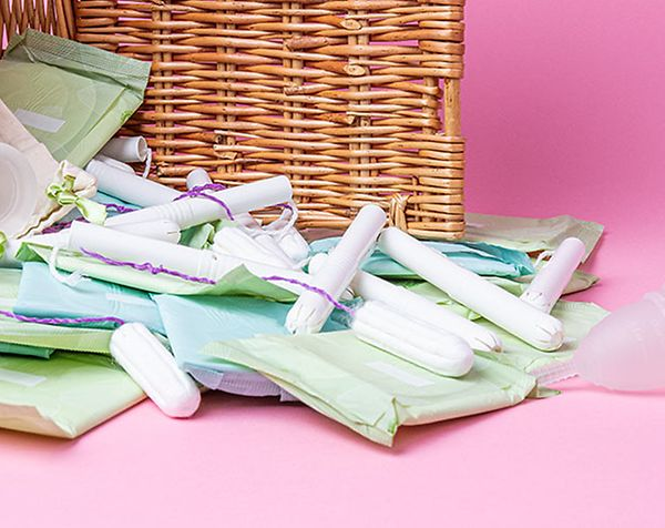 Periods at work, sanitary products