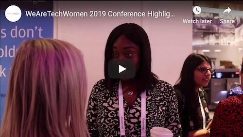 Techwomen conference 2019 youtube footage