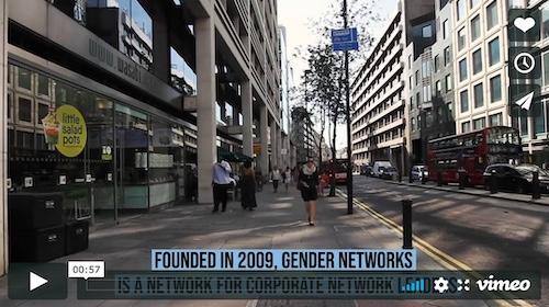 Gender networks promotional video