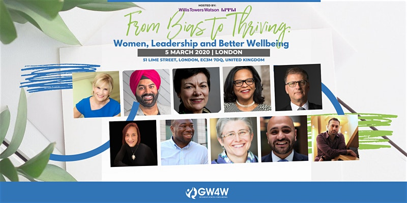 From Bias to Thriving: Women, Leadership and Better Wellbeing IWD