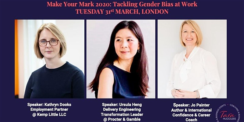 Make Your Mark 2020: Tackling Bias at Work by Tara Huddless
