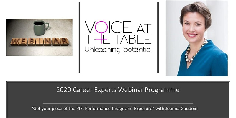 Webinar Voice at the table