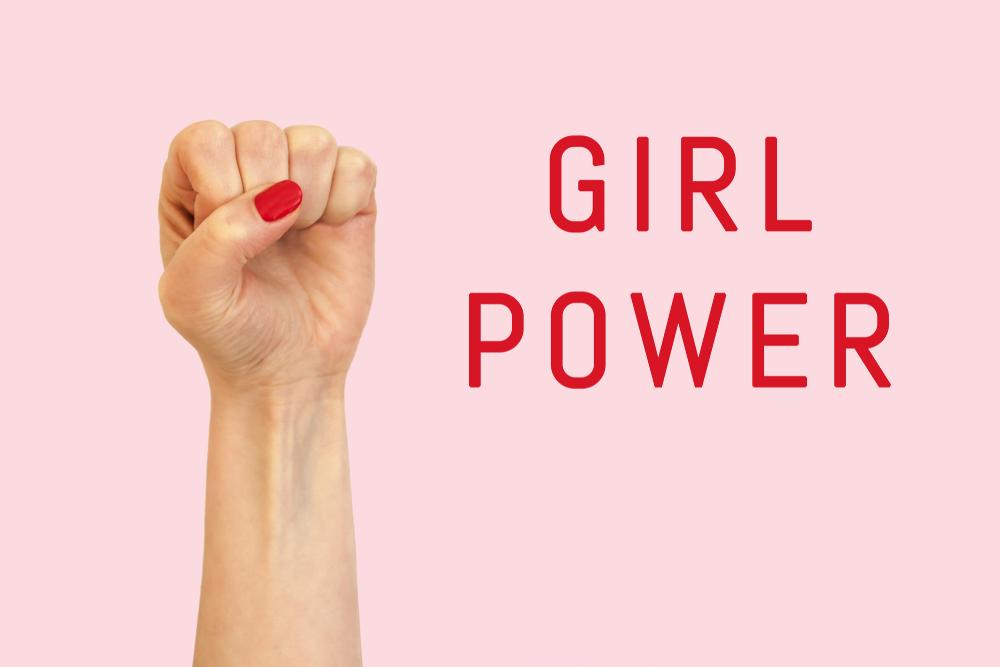 Girl Power, International Women's Day, feminist