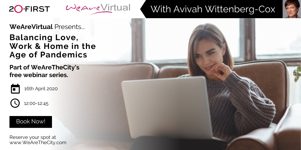 Avivah Wittenberg-Cox - WeAreVirtual Webinar