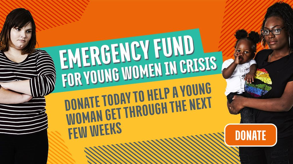 Young Women's Trust, Emergency fund banner