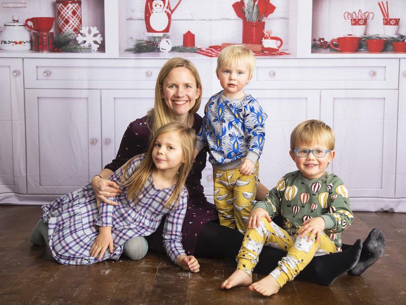 Elspeth Fawcett and children, Yummikeys