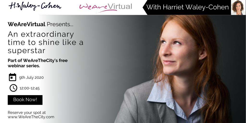 WeAreVirtual - Harriet Waley-Cohen - Twitter(1)