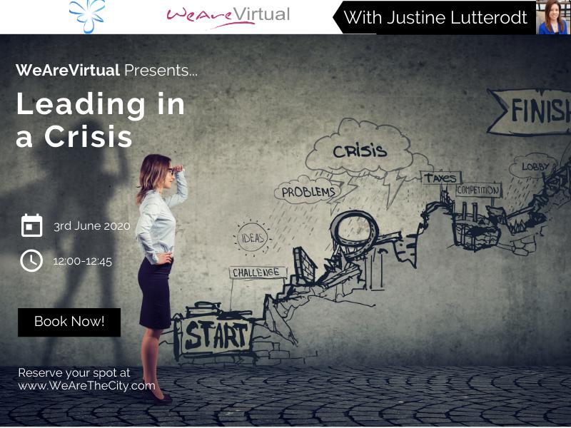 WeAreVirtual webinar Justine Lutterodt