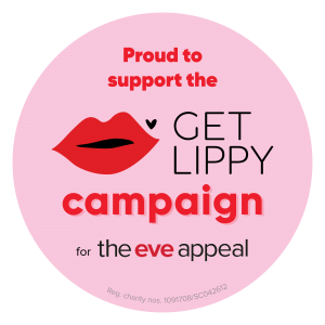 The Eve Appeal Get Lippy campaign