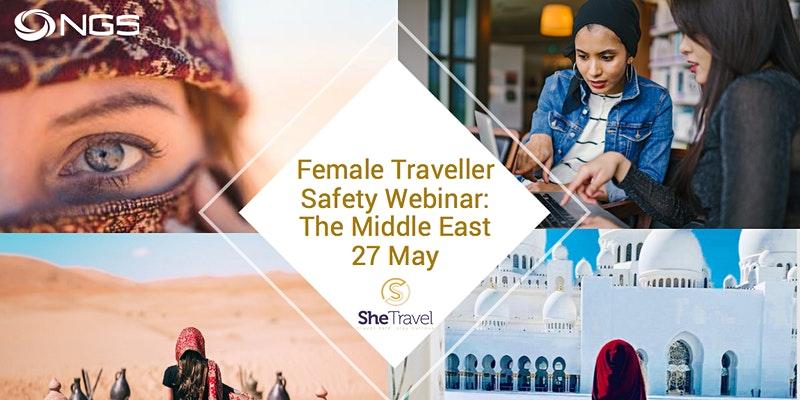 SheTravel, Female Traveller Safety Webinar
