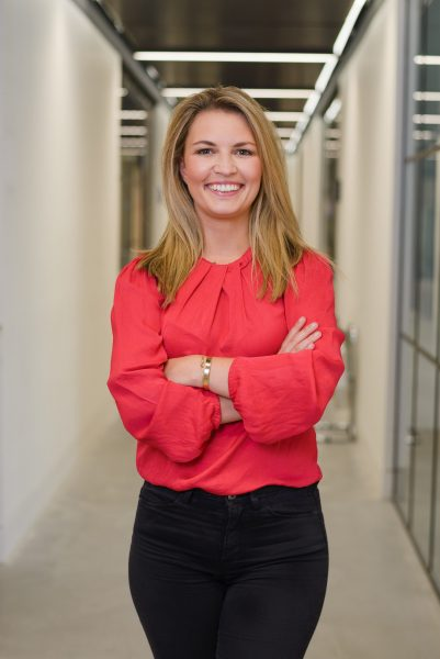 Ashleigh Hinde, female founder