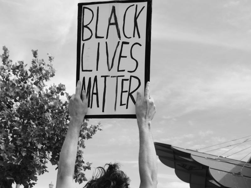 Black Lives Matter protest, diversity