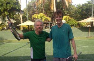 James Cluskey and Richard Branson