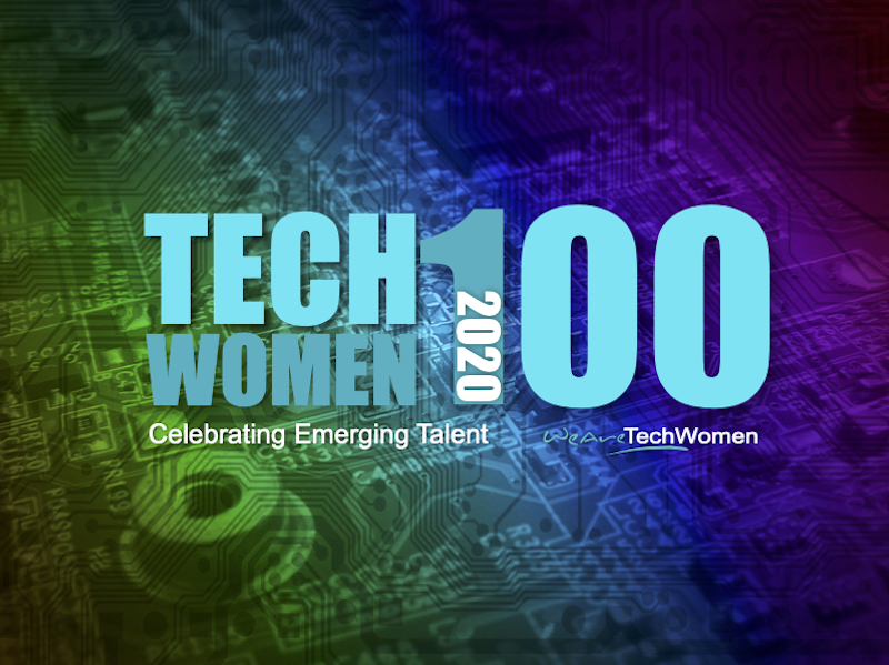 TechWomen100 2020 logo