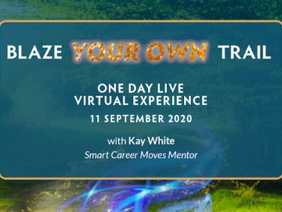 Blaze Your Own Trail, Kay White event image featured