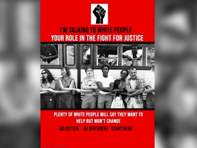 I'm Talking to White People- Your Role in the Fight for Justice featured
