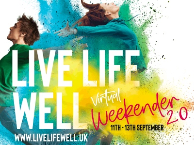 Live Life Well Virtual Weekender featured
