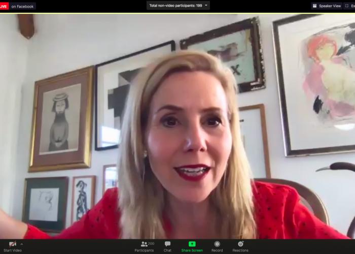 Sally Phillips - Screenshot - Rising Star Awards 2020 Ceremony