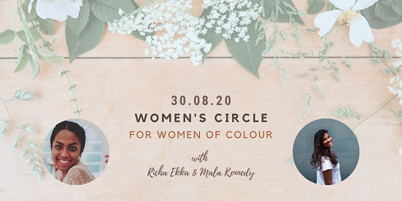Women's circle for women of colour with Mala Kennedy