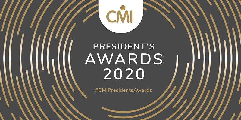 CMI President's Awards 2020 event image