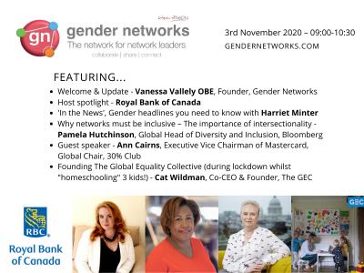 Gender Networks - November meeting