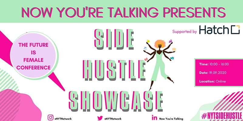 Now You're Talking Side Hustle Showcase