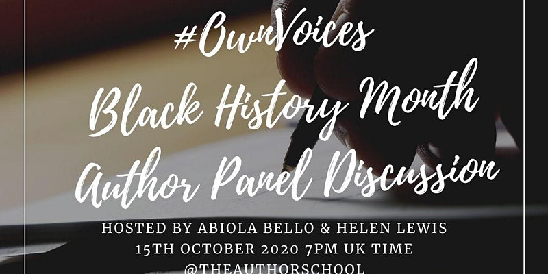 #OwnVoices Black History Month Author Panel Discussion