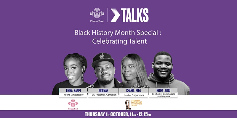 The Prince's Trust Black History Month event