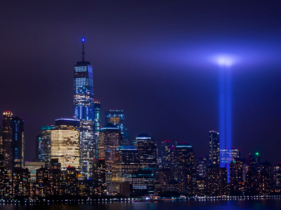 World Trade Center, Tribute in Light, September 11