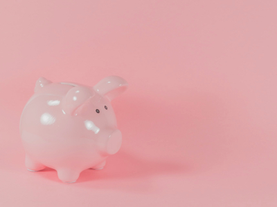pension gap, piggy bank, financial, saving money