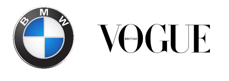 BMW & British Vogue logos