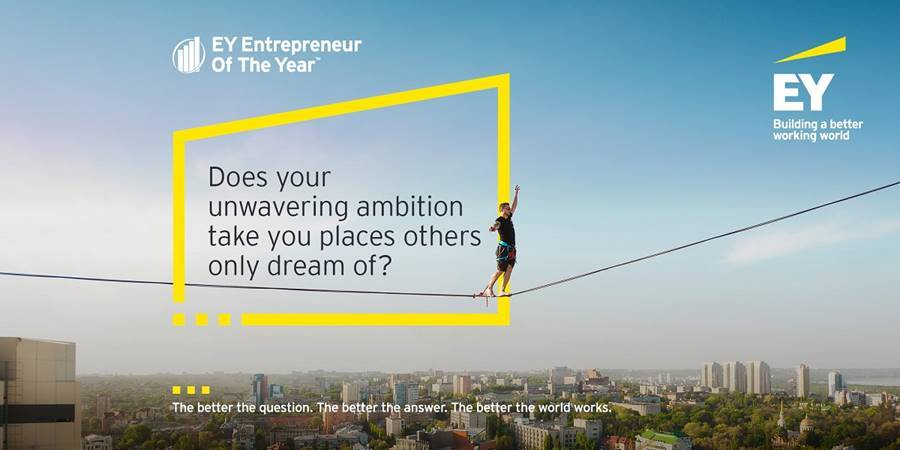 EY Entrepreneur of the year awards ceremony image