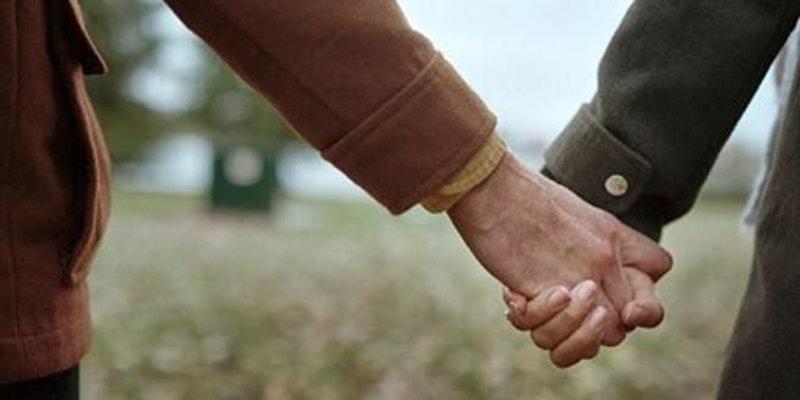 Holding hands, Lloyds Bank International Mens Day event image