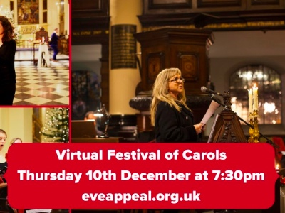 The Festival of Carols, The Eve Appeal featured