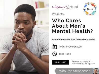 Who cares about mens mental health?