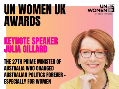 UN Women UK Awards, Julia Gillard featured
