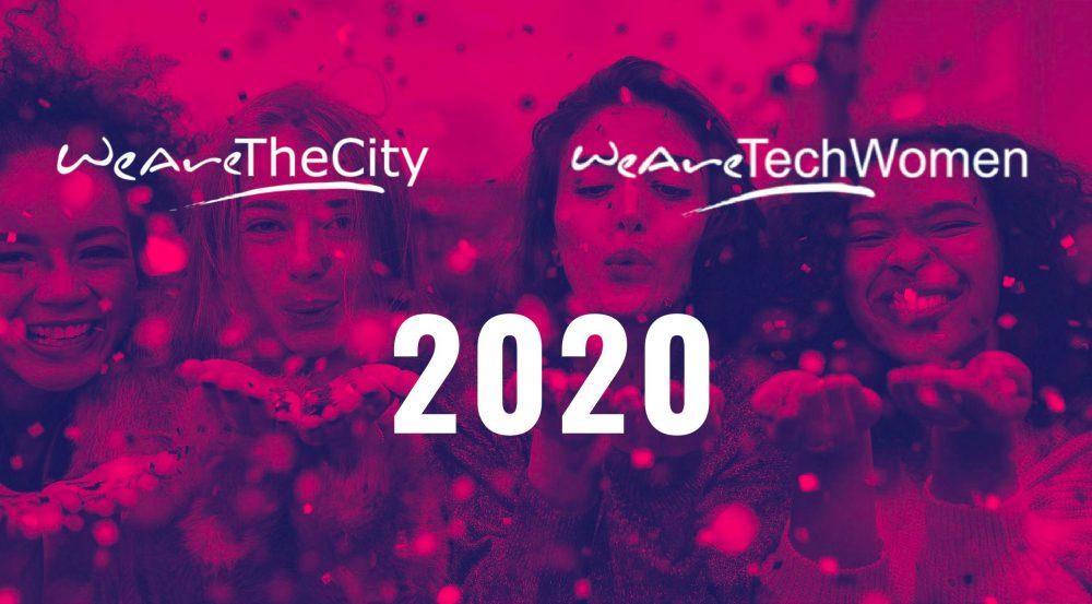 WeAreTheCity & WeAreTechWomen - Looking back at 2020